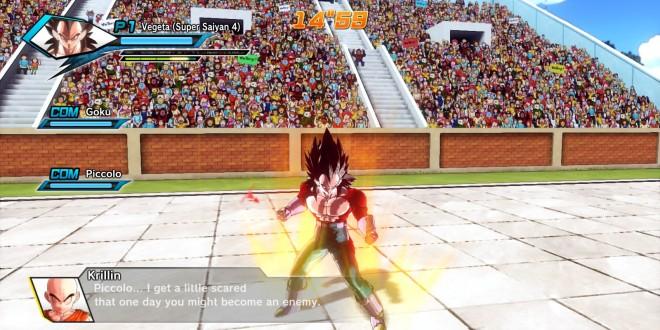 Vegeta en Dragon Ball Xenoverse