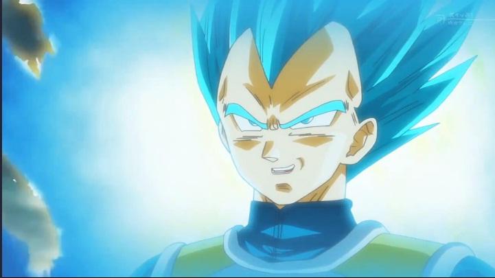 dragon ball super vegeta azul